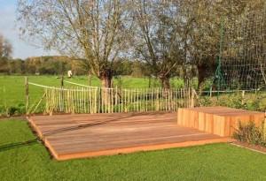 Tuinproject is klaar de telder tuinen - Tuinuitleg met kiezelstenen ...