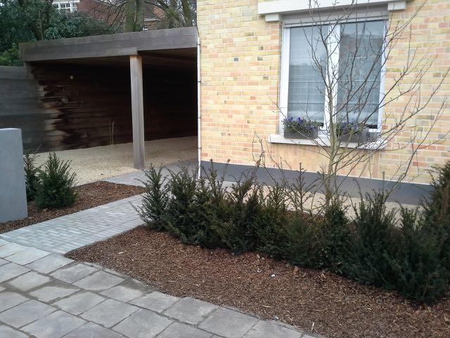 Strakke Tuinen Voortuin: Droomtuinen tuinidee?n en voorbeelden van ...
