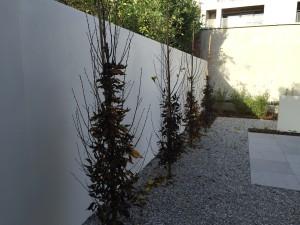polyester tuinwanden
