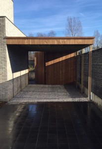 carport thermowood